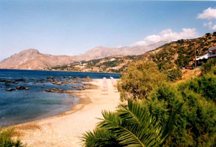 Beach at Plakias