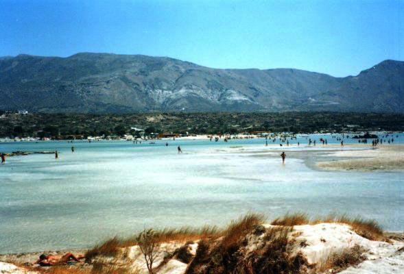 elafonissi saarelta nähtynä