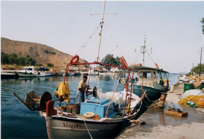 Georgioupolis harbour