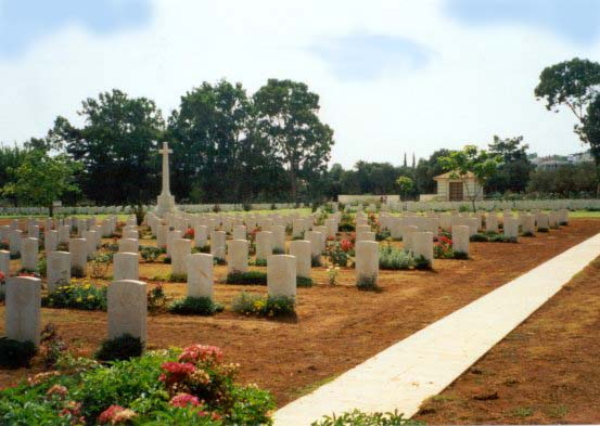 World War 2 cemetery at Souda Bay.