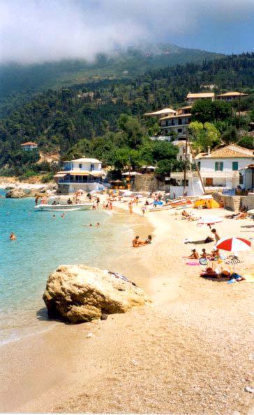 Agios Nikitaksen ranta.