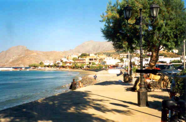 Plakias seaside