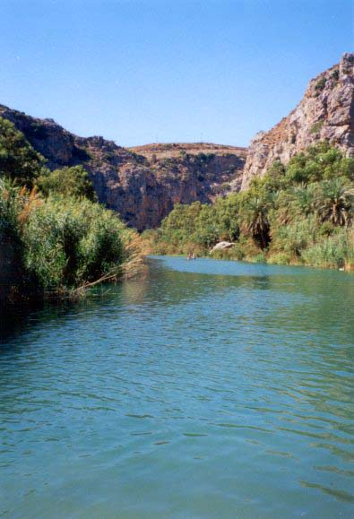 Preveli, Kourtaliotis Gorge and River of Megalopot
