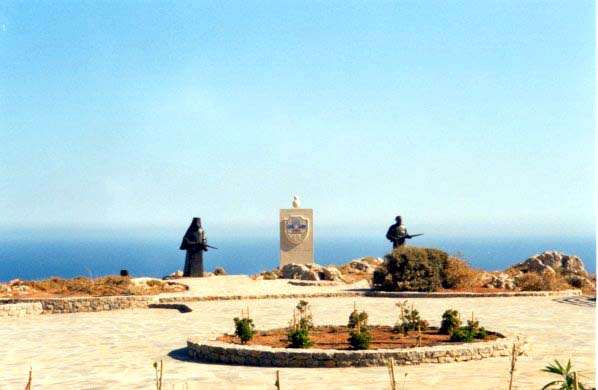 Preveli Memorial for the Battle of Crete in 1941