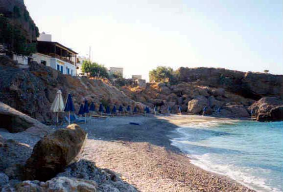 Chora Sfakia main beach