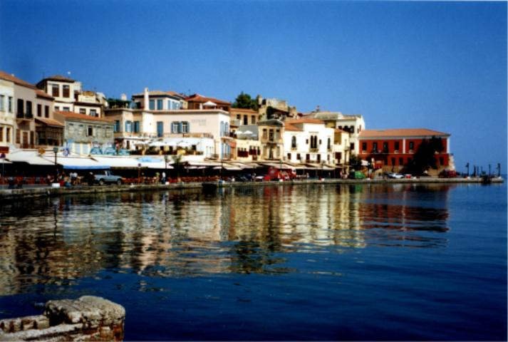 Chania seaside cafés