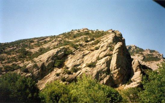 Kalavrita mountains