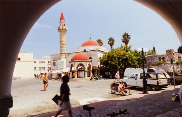 Kosin kaupungin minareetit