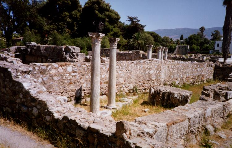 Kos Town Ancient Sites