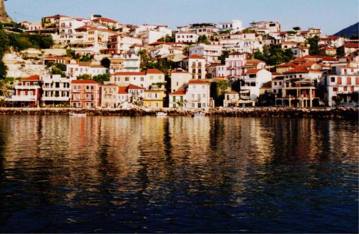 Parga from the Dock.
