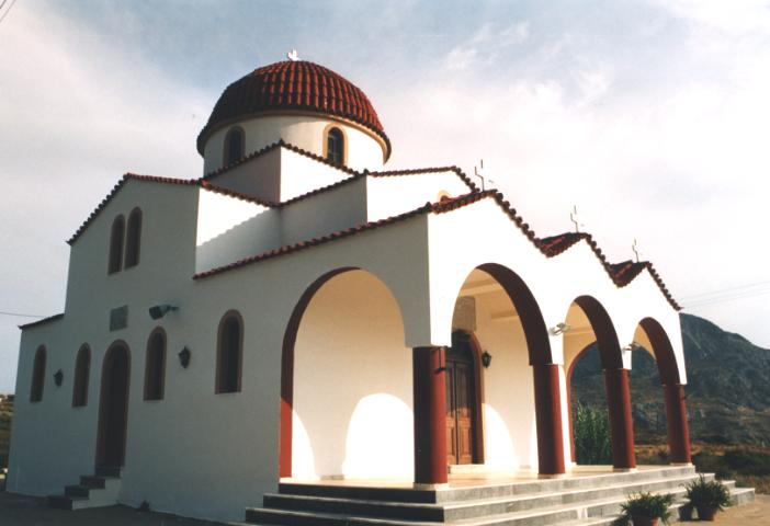 Plakias church