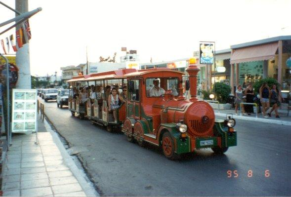Platanias Local Train