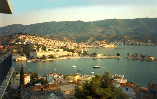 Poros Town Harbour