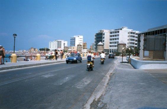 Rhodoksen tuulinen ranta