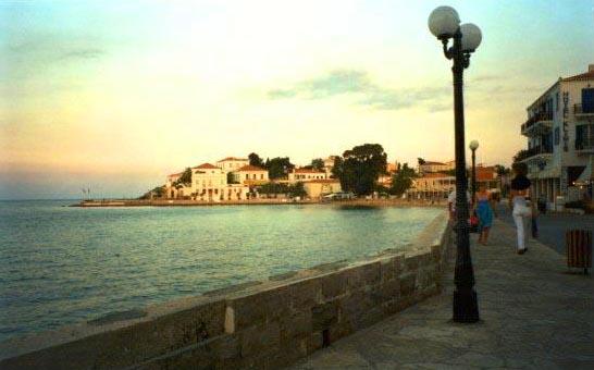 Spetses seaside