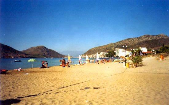 Tolo the beach