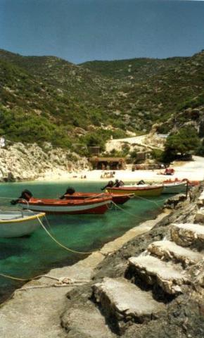 Zakynthos Vromi beach